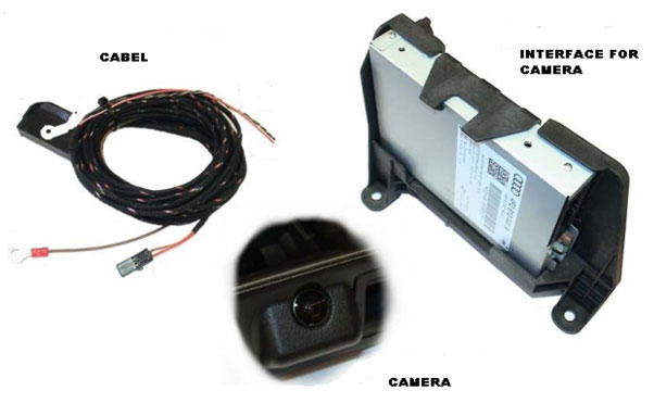 reverse camera with moving guidelines